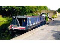 57ft Narrowboat Cruiser Liveaboard based in London
