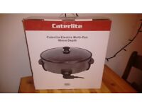 Large Electric Caterlite Multi-Pan - Brand new
