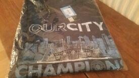 Manchester City ( BNWT ) Official Merchandise 'Our City' T- Shirt