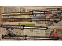 4 X MOTORBIKE FORKS if reading this they will still be for sale