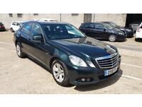 2010 10 Plate, Mercedes Benz E220 CDi Blue Efficiency, 82K, 9M MOT, PCO BADGE, Manual, Black Leather