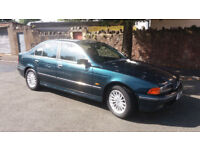 1999(V)BMW 520i SE MET GREEN,VERY LOW MILES,FSH,NEW MOT,CLEAN CAR,GREAT VALUE