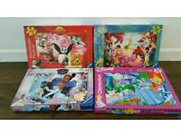 4 Girls Jigsaws. Toys.