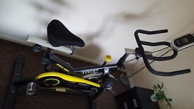 Exercise Bike Aerobic Training Home Cycle Machine Fitness Cardio Workout Cycling