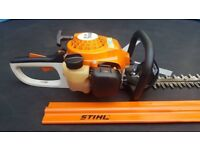 """stihl hs45 hedgetrimmer cutter SEE VIDEO! """"24 sharp blade in excellent condition"""