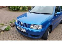 Vw polo 112months mot cheap on fuel and tax central lock remote control key great drive