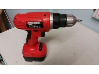 Black & Decker EPC 12 cordless drill driver with charger
