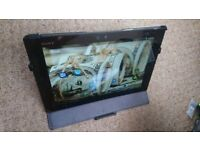Sony Xperia Z Tablet 16gb 10.1 inch in very good condition with leather case stand