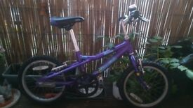 "Dawes Blowfish 16"" Kids Bicycle VGC"
