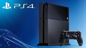 Playstation 4 boxed with game