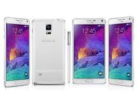 Brand New Samsung Galaxy Note 4 White 16GB Unlocked SimFree With Full box & Accessories