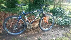 Trek SP200 carbon full suspension mountain bike