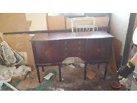 Antique sideboard/dresser for project