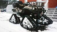 snowtracks for atv
