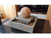 Tabletop relaxing water fountain (indoor)