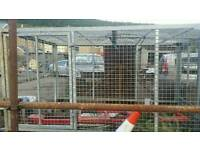 Galavised cage for tipper