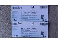 2 tickets for the Max Richter Ensemble at Blenheim Palace THIS FRIDAY