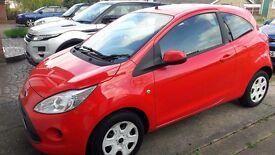 Ford ka Edge 1.2 2011 red