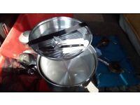 Camping pan set