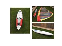 Windsurf Boards and Sail