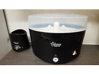 Tommee Tippee Black Steriliser & Bottle Warmer (Used)