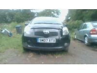 TOYOTA YARIS 1.4 DIESEL 2007 ALL PARTS AVALIABLE