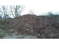 Topsoil free to uplift