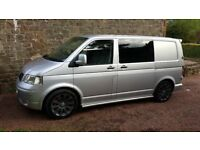 2008 VW T5 Transporter 2.5 130 6 seats - No VAT