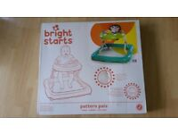 New Bright Starts Pattern Pals Baby Walker, unwanted baby shower gift