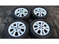 "Genuine Vauxhall SXI 16"" Alloy Wheels: Corsa, Astra, Agila, Combo van etc 4 x 100 pcd"