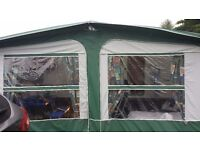 975 caravan Awning to fit Bailey pagent champagne excellent condition. £120 o n o