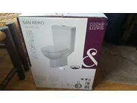 Toilet cooke&Lewis Brand new In box white