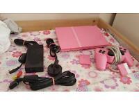 Pink PlayStation 2