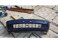 vauxall zafira mk 1 front bumper in blue
