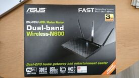 Asus Dual Band Wireless ADSL Modem Router