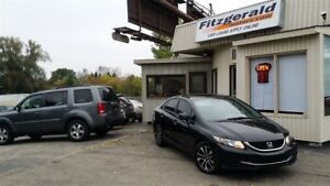 2013 Honda Civic EX - BACK-UP CAM! SUNROOF!