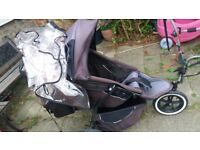 Phil & Teds pushchair.