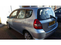 Honda Jazz 2008 Manual Low Mileage, Blue, in great condition