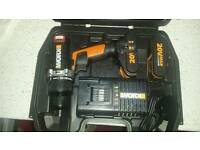 Brand new worx 20v brushless hammer drill