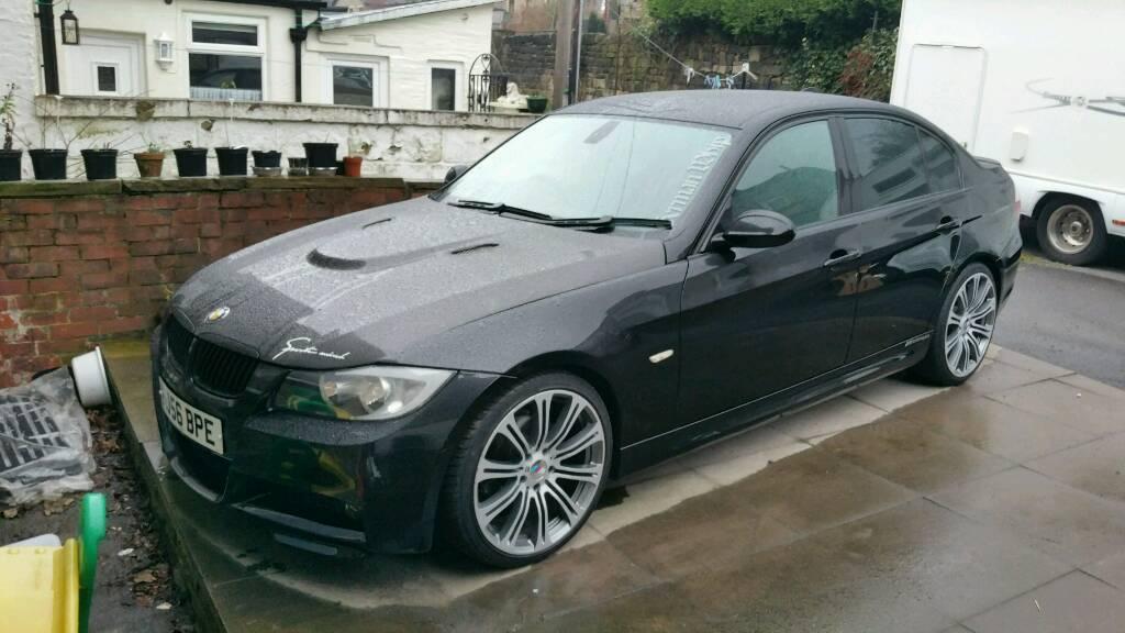 BMW E90 3 SERIES 2006 (56) M SPORT 318D 122BHP MODIFIED M3 STYLE E91 E92