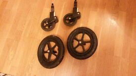 Bugaboo front and back wheels