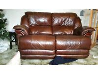 FREE 2 and 3 seater leather sofa MUST GO TODAY