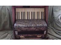 Vintage Hohner Verdi 1 Piano Accordion.