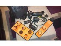 Nikon D3200 +lenses +extra