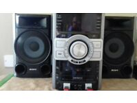 Sony Genezi MHC-GTZ3i Stereo System with Speakers and Remote