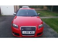AUDI A3 2.0 TDI S LINE 5DR SPORTBACK WITH LEATHER SPORT SEATS