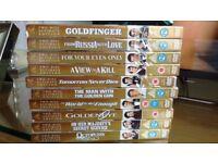 Large selection of brand new James bond dvds