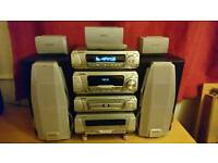 Technics sa-dv290 dvd surround sound stereo in fully working order.