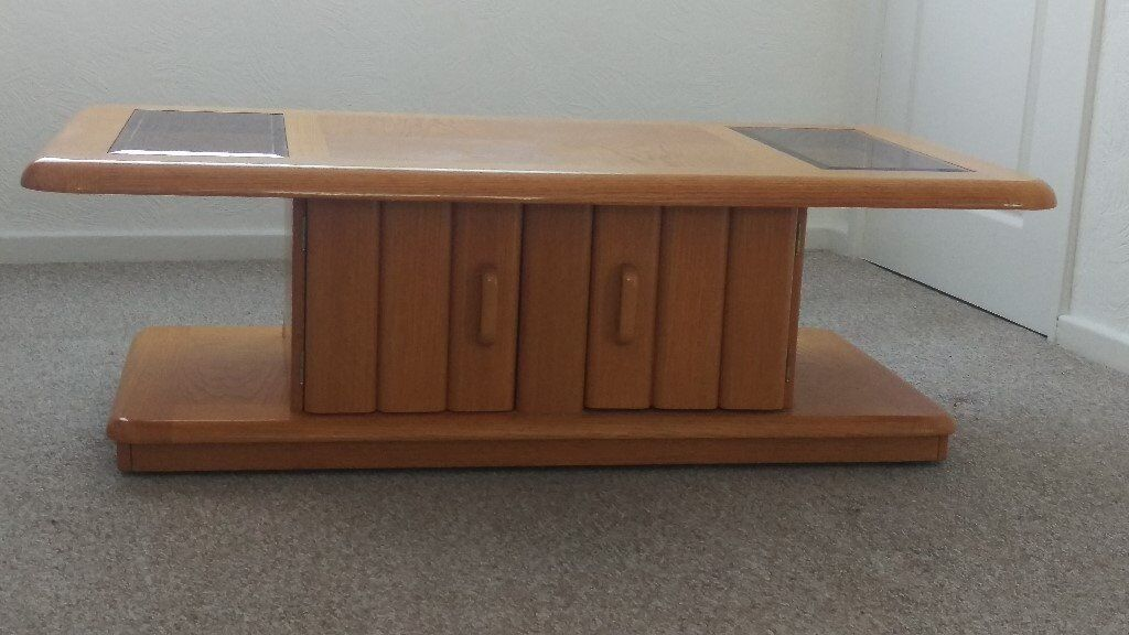 Teak coffee table with storage, immaculate. | in Kingswood ...