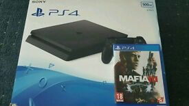 PlayStation 4 SLIM Boxed